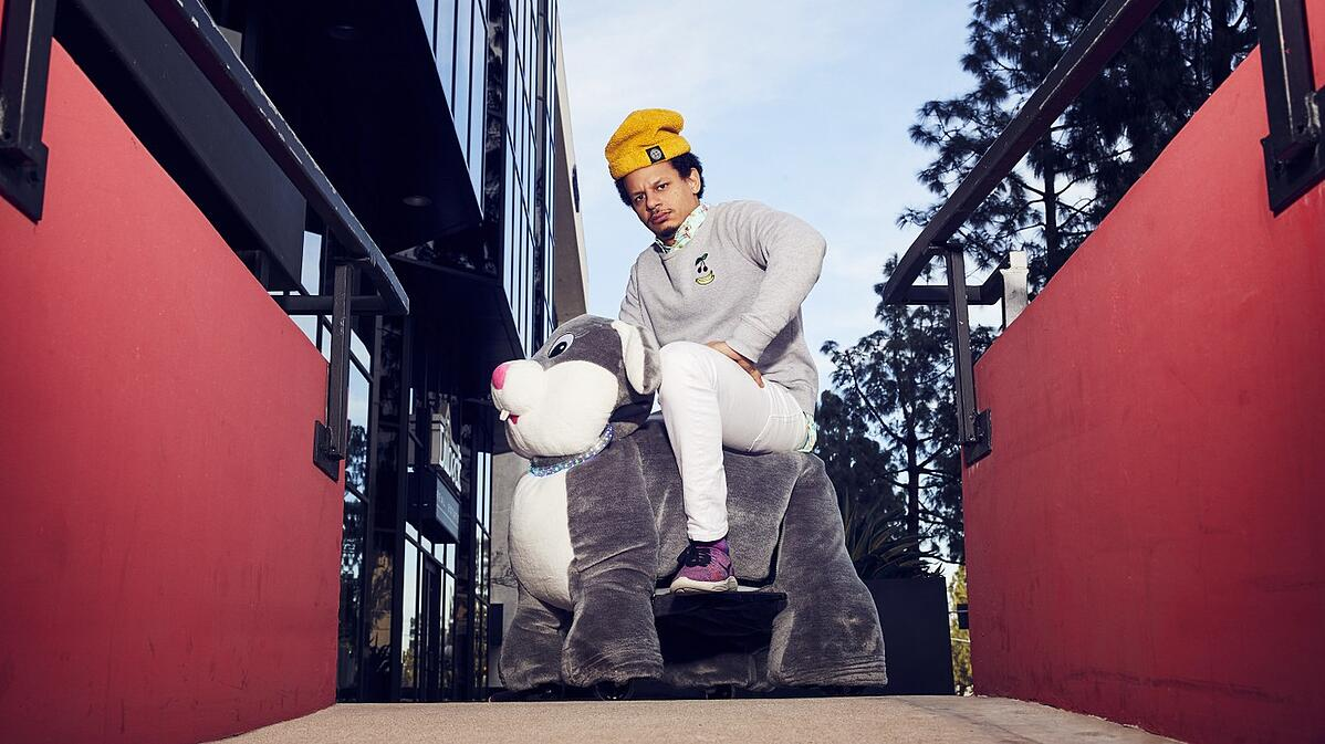 """Eric André is the creator and host of """"The Eric André Show"""" on Adult Swim and he stars in the new Netflix film """"Bad Trip."""" Photo courtesy Adult Swim."""