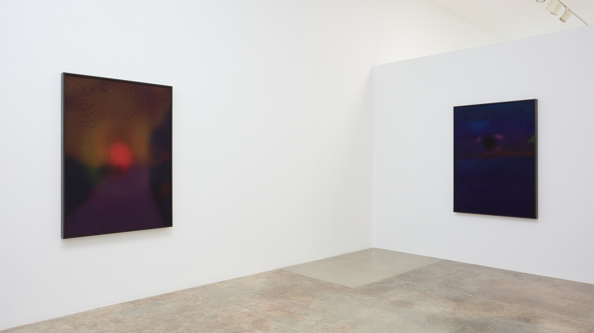 """Installation view of """"Rosha Yaghmai: Afterimages"""" at Kayne Griffin, Los Angeles. Courtesy of the artist and Kayne Griffin, Los Angeles. Photo by Flying Studio."""