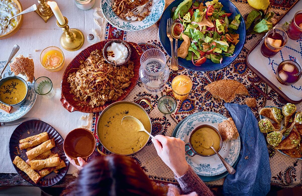 Anas Atassi Sumac Cookbook Ramadan Feast Photo courtesy of Interlink Books