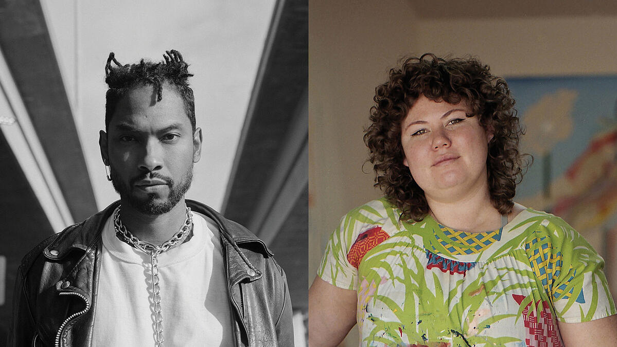 Singer, songwriter, and producer Miguel is joined by artist Christina Quarles for an intimate, online conversation about art, identity, and mental health. Photo courtesy of The Hammer Museum.